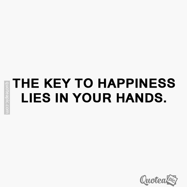 Your hands
