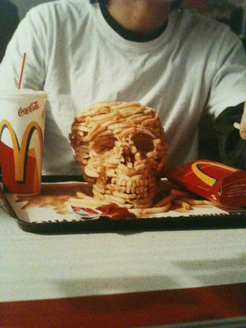 Good use of McDonald's fries