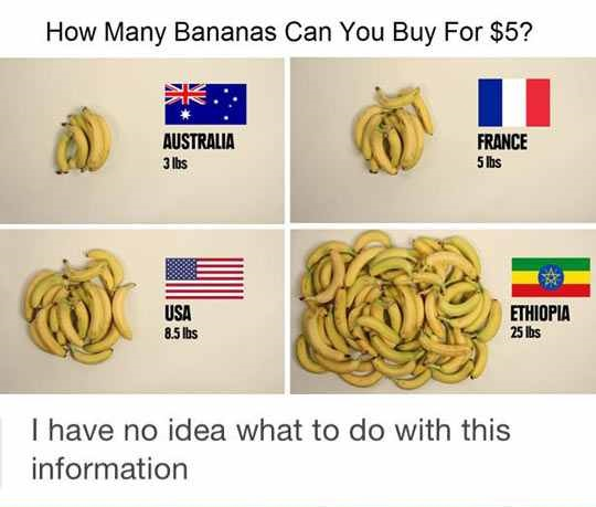 The All New Banana Scale
