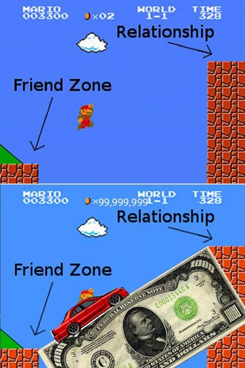 Friend Zone vs Relationship
