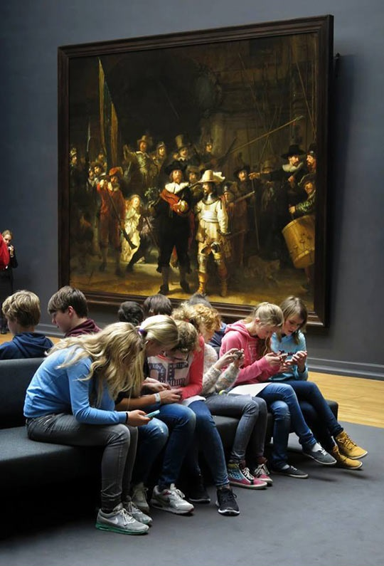 Our Generation At The Museumq