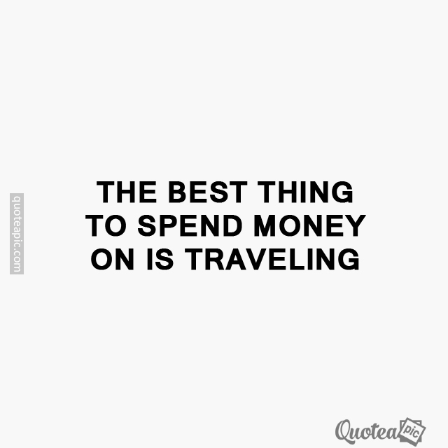 Is traveling