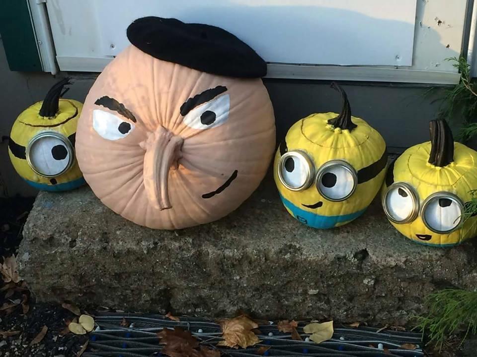 Despicable Me Pumpkin