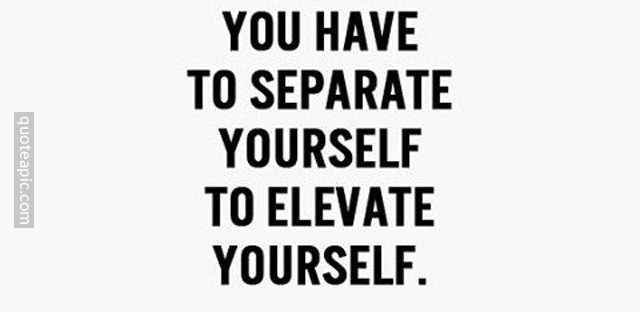 Separate Yourself