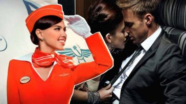 Air Hostess Made A Fortune For 'Secret Toilet Sex' Welcome To The Mile High Club