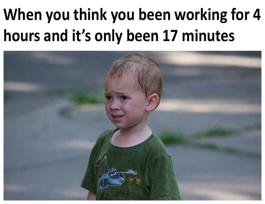 All The Time At Work