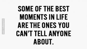 Best Moments In Life