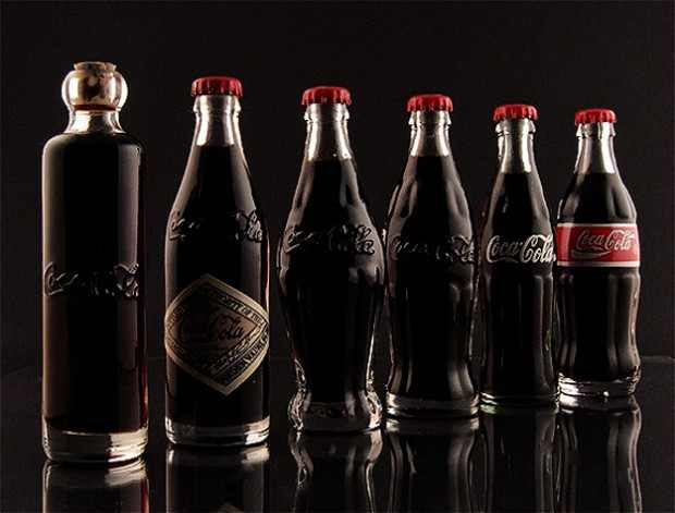 Coca Cola's Bottles Over The Years