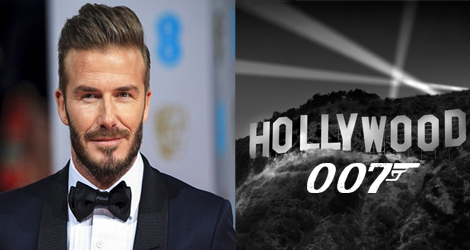 David Beckham, Sporting Legend Takes Up Acting - The Next James Bond Perhaps