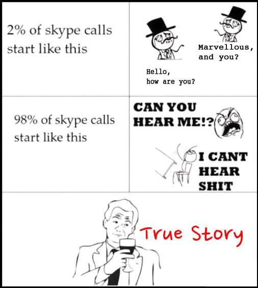 Every Skype Call Ever