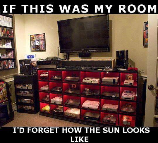 Every Gamers Dream Room