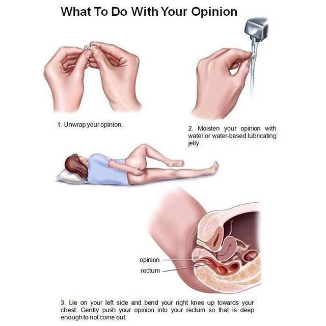 Here's What To Do With Your Opinion...