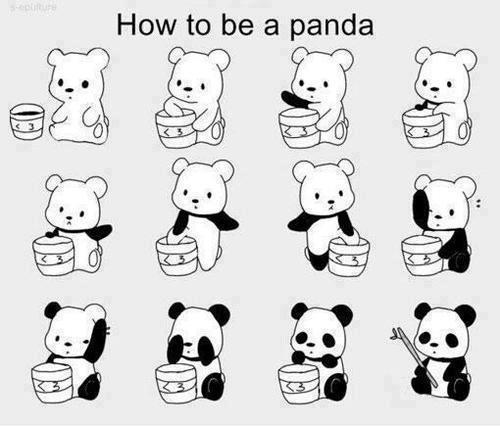 Panda Makeup Tutorial
