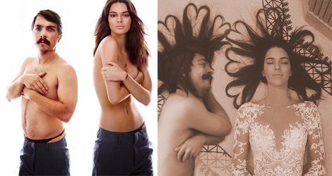 This Man Photoshopped Himself Into Kendall Jenner's Instagram Photos, It's Hilarious