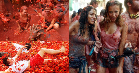 La Tomatina Celebrate 70 Years Spain's Tomato Throwing Festival