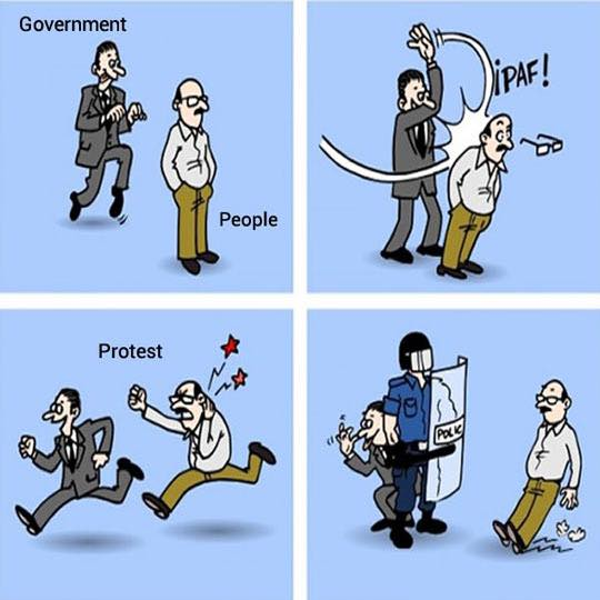 Our Relationship With The Government