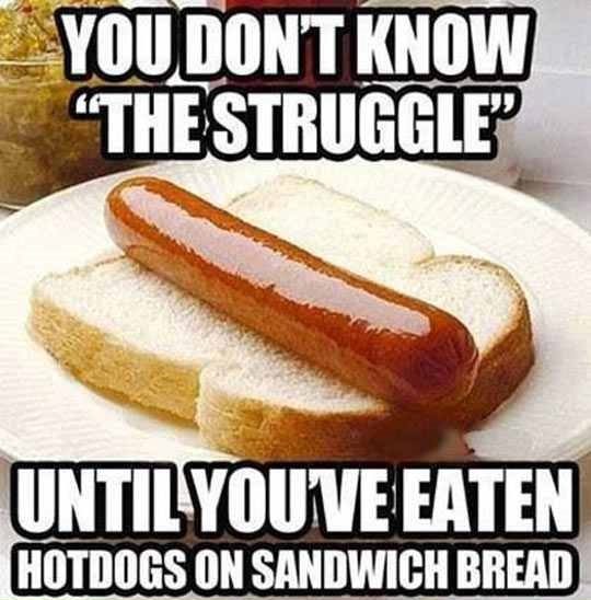 I Figure I'm Not The Only One With The Hot Dog Struggle