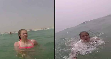This Teenage Girl Was Saved From Drowning By Her Selfie Stick