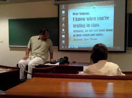 This Teacher Knows