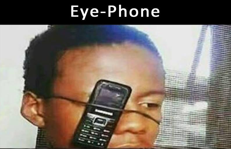 The New Eye-Phone