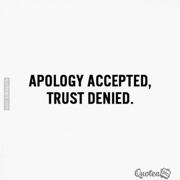 Trust Denied