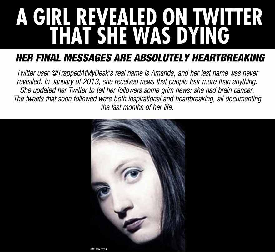 Girl Documents The Last Days Of Her Life On Twitter