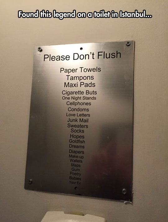Please Don't Flush