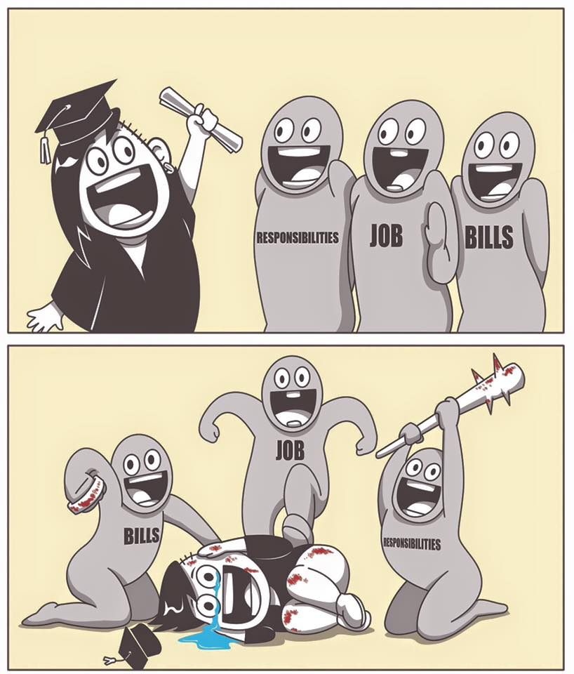 What To Expect When You Graduate