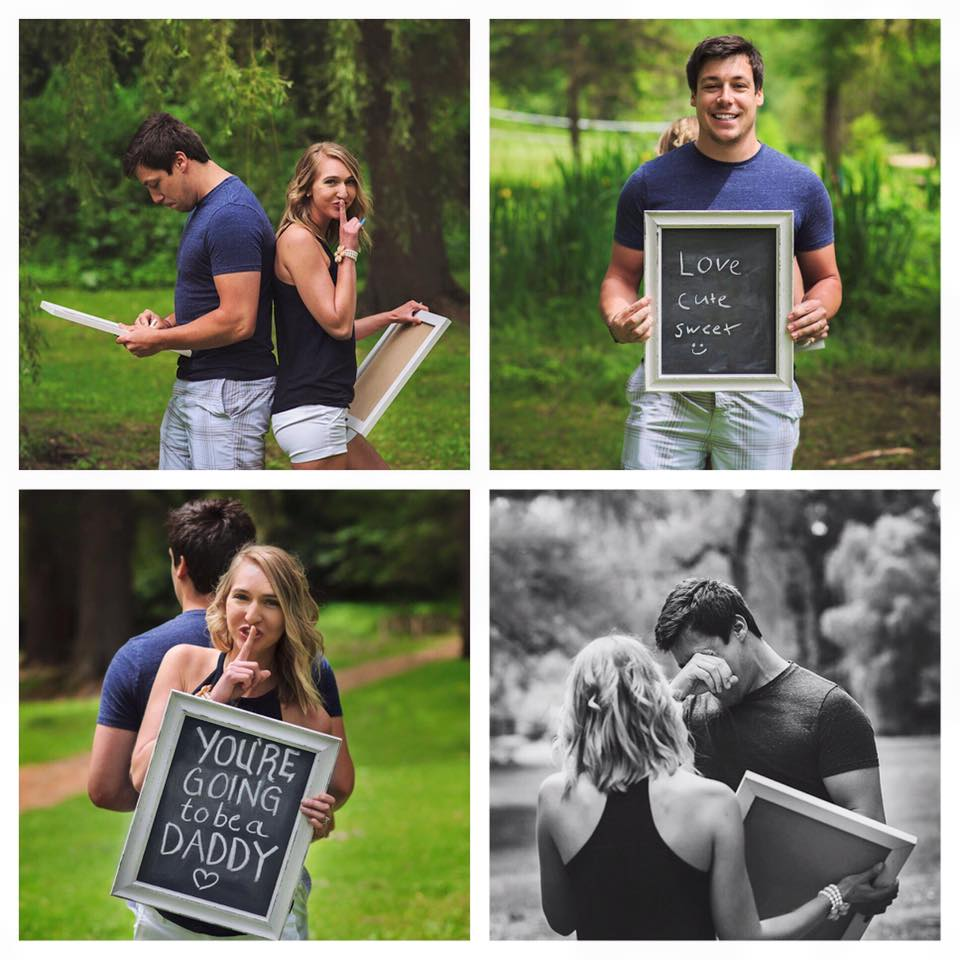 Wife Surprises Her Unsuspecting Husband With Pregnancy News During Staged Photoshoot