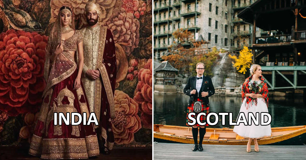 Take A Look At Traditional Wedding Outfits From Around The: What Traditional Wedding Outfits Look Like Around The World