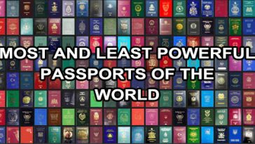 The Worlds Most And Least Powerful Passports