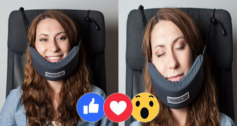 Finally Someone Has Invented A Head Hammock So You Could Fall Asleep On Those Long Rides