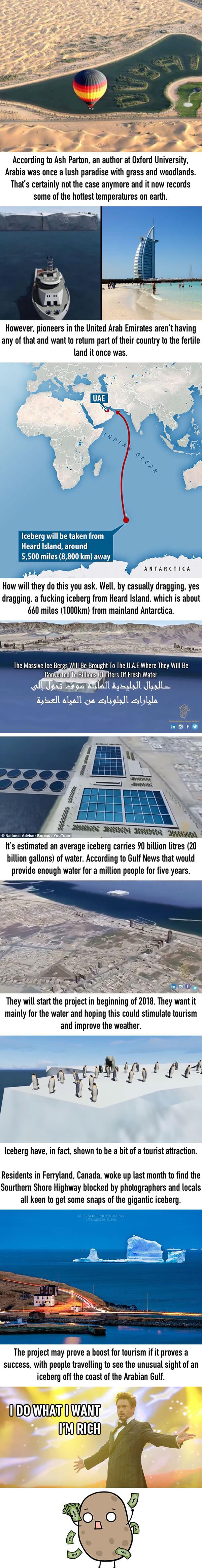 UAE Iceberg Project