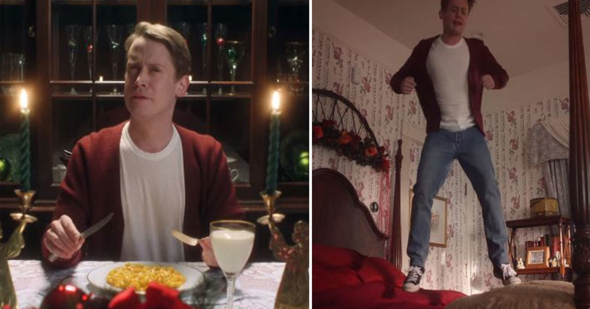 Macaulay Culkin Recreates Iconic Quot Home Alone Quot Scenes In A